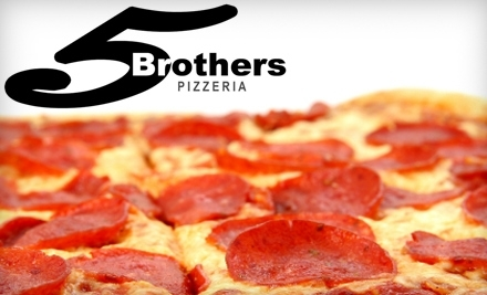 $15 Groupon to Vandy's 5 Brothers - Vandy's 5 Brothers in Naples