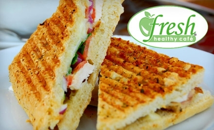 $12 Groupon to Fresh Healthy Cafe - Fresh Healthy Cafe  in Akron