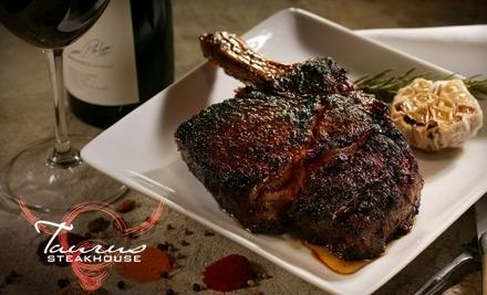 $25 Groupon to Taurus Steakhouse - Taurus Steakhouse in Tamarac