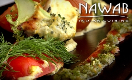 $30 Groupon to Nawab Indian Cuisine: 756 First Colonial Rd.  - Nawab Indian Cuisine in Norfolk
