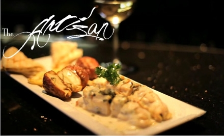 $20 Groupon to The Artisan - The Artisan in Raleigh