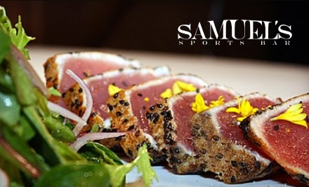 $40 Groupon to Samuel's - Samuel's in Springfield