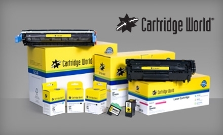 $20 Groupon to Cartridge World - Cartridge World in Birmingham