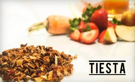 $20 Groupon to Tiesta Tea - Tiesta Tea in