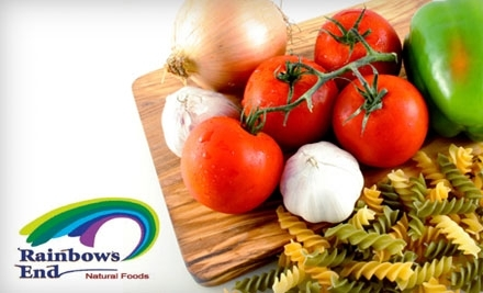 $20 Groupon to Rainbow's End Natural Foods - Rainbow's End Natural Foods in Las Vegas