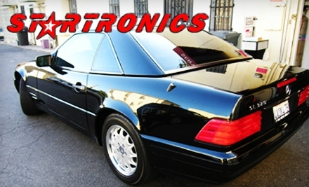 Startronics: 3M Auto Tint Glass Tinting or Pair of Hertz Auto Speakers with Installation - Startronics in Santa Monica