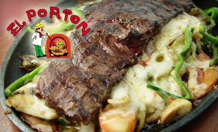 El Porton Mexican Restaurant: $12 Groupon for Lunch - El Porton Mexican Restaurant in Roswell