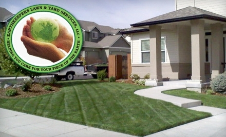 $100 Groupon to Earth Keepers Lawn and Yard Care Services - Earth Keepers Lawn and Yard Care Services in
