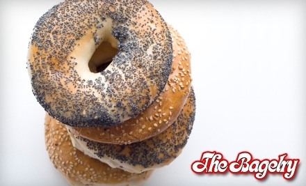 $20 Groupon to The Bagelry - The Bagelry in Silver Spring
