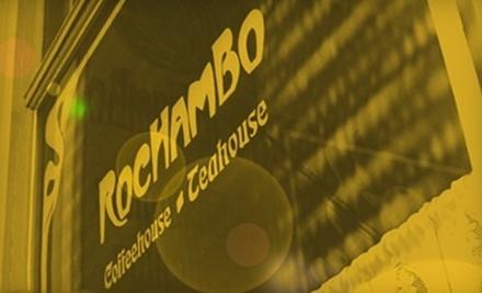 $10 Groupon to Rochambo Coffee & Tea House - Rochambo Coffee & Tea House in Milwaukee