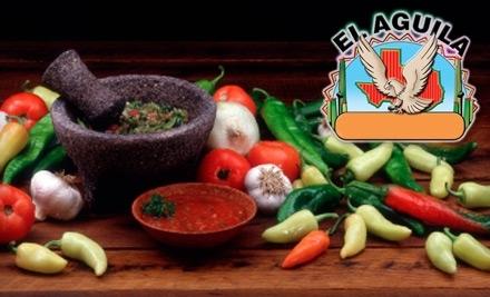 $50 Groupon to El Aguila Restaurant - El Aguila in Silver Spring