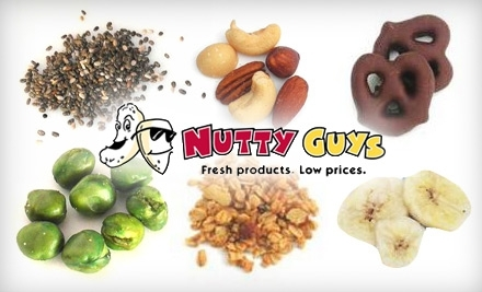 $25 Groupon to Nutty Guys - Nutty Guys in