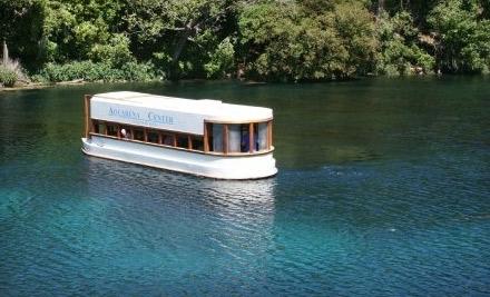 Aquarena Center: 2 Adult Tickets to a Glass-Bottom Boat Tour - Aquarena Center in San Marcos