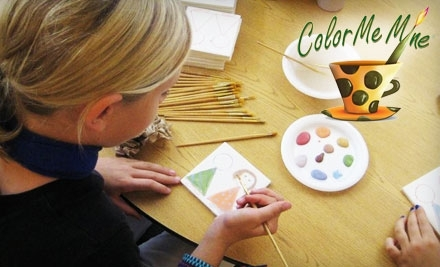 $30 Groupon to Color Me Mine - Color Me Mine in Carmel