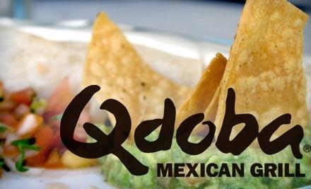 $12 Groupon to Qdoba Mexican Grill - Qdoba Mexican Grill in Cordova