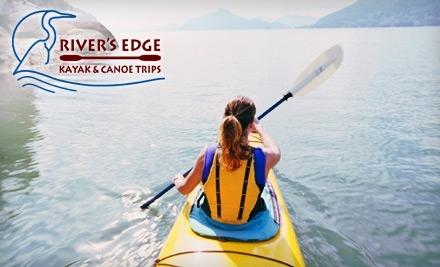 River's Edge Kayak & Canoe Trips: Full or Half-Day Canoe Trip - River's Edge Kayak & Canoe Trips in Healdsburg