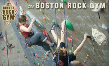 Boston Rock Gym: 3-Hour Lesson and 2-Week Membership - Boston Rock Gym in Woburn