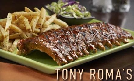 $25 Groupon to Tony Roma's - Tony Roma's in Aiea