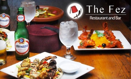 $50 Groupon to The Fez - The Fez in Stamford