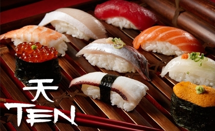 $40 Groupon to Ten Asian Bistro ($50 Groupon if used from 5PM to 7PM) - Ten Asian Bistro in Newport Beach