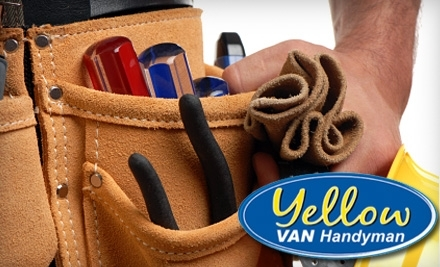 Yellow Van Handyman - Yellow Van Handyman in