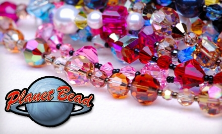$40 Groupon to Planet Bead - Planet Bead in Hillsboro