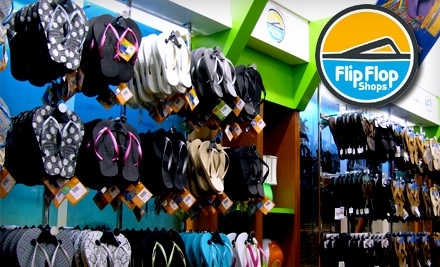 $30 Groupon to Flip Flop Shops  - Flip Flop Shops in Tallahassee