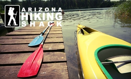 Arizona Hiking Shack: One-Day Single-Occupancy Inflatable-Kayak Rental - Arizona Hiking Shack in Phoenix