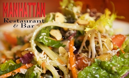 $50 Groupon to Manhattan Restaurant - Manhattan Restaurant in Edmond