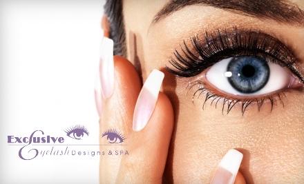 Exclusive Eyelash Designs & Spa: Brazilian or Guyzilian Wax - Exclusive Eyelash Designs & Spa in Richmond Heights
