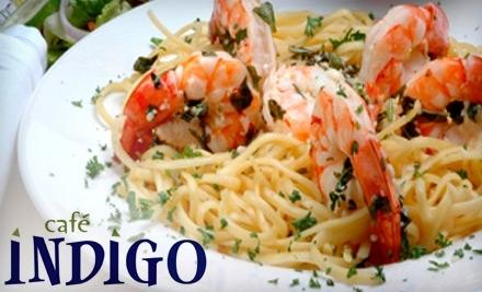 $30 Groupon to Cafe Indigo - Cafe Indigo in Meridian