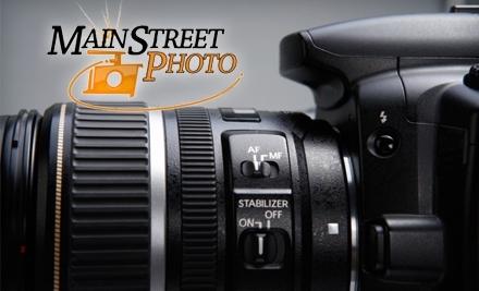 $20 Groupon to Main Street Photo - Main Street Photo in Bowling Green