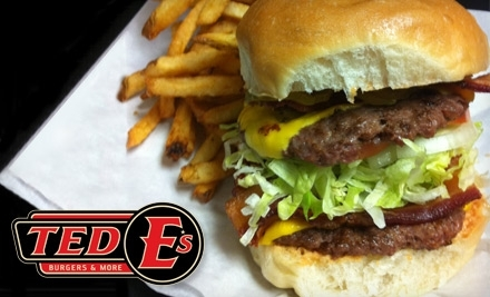 $20 Groupon to Ted E's Burgers & More - Ted E's Burgers & More in Fort Worth