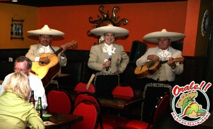$30 Groupon to Orale Mexican Restaurant - Orale Mexican Restaurant in Hollywood