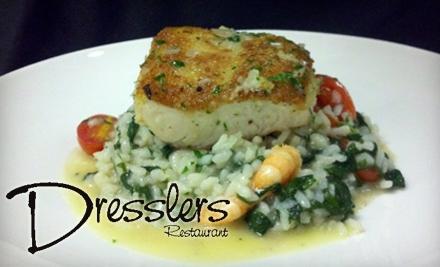 $50 Groupon to Dressler's - Dressler's in Huntersville
