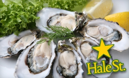 $50 Groupon to Hale Street Tavern, Sushi & Oyster Bar - Hale Street Tavern, Sushi & Oyster Bar in Beverly