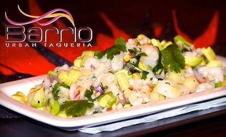 Barrio Urban Taqueria: $40 Groupon for Dinner - Barrio Urban Taqueria in Chicago
