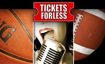 $35 Groupon to Tickets for Less - Tickets For Less in