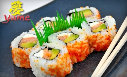 $30 Groupon to Yume Sushi Grill - Yume Sushi Grill in Scottsdale
