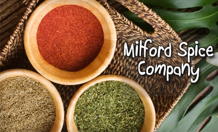 $30 Groupon to Milford Spice Company - Milford Spice Company in