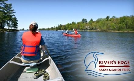 River's Edge Kayak & Canoe Trips: 1 Full or Half-Day Trip - River's Edge Kayak & Canoe Trips in