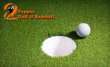 Pappas Indoor Golf & Baseball: 5 One-Hour Golf Practice Facility Passes - Pappas Indoor Golf & Baseball in North Chelmsford