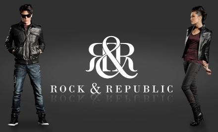 Rock & Republic: Warehouse Sale on Fri., Feb. 25Sun., Feb. 27 - Rock & Republic in Culver City