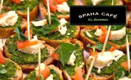 $10 Groupon to SpaHa Cafe - SpaHa Cafe in Harlem
