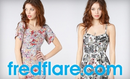 $50 Groupon to fred flare - fred flare in