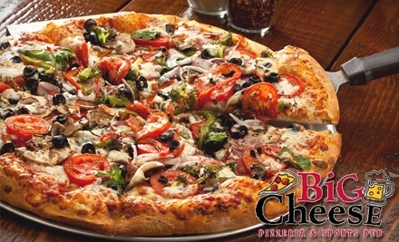 $20 Groupon to Big Cheese Pizza - Big Cheese Pizza in Sioux Falls
