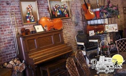 $20 Groupon to Riverwalk Jazz Cafe - Riverwalk Jazz Cafe in Ozark