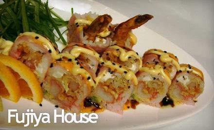 $50 Groupon to Fujiya House - Fujiya House in Fredericksburg