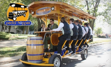 Pedal Hopper: Group 2-Hour Ride Pass for Up to 16 People - Pedal Hopper in Lawrence