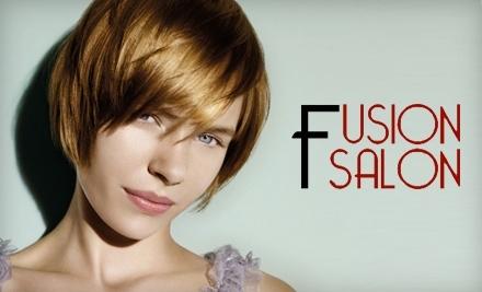 $40 Groupon to Fusion Salon - Fusion Salon in Grand Rapids